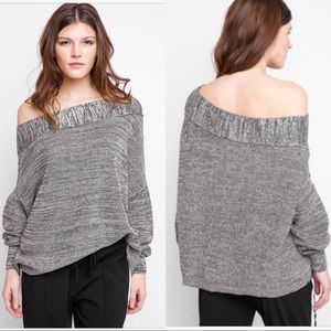 Free People Alana pullover sweater • One shoulder